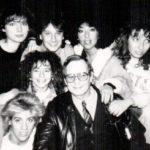 """Corpo di ballo del Musical """"Anonimus"""" con il Coreografo Franco Estill - Teatro Tenda Roma (1987)"""