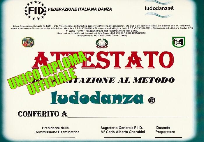 CORSI DI FORMAZIONE DI MAESTRO LUDODANZA®