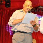 Carlo Alberto Cherubini annuncia i vincitori della XX edizione