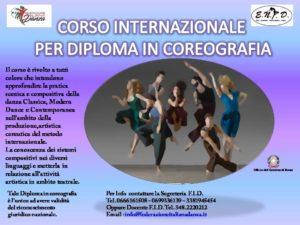 Corso formazione Coreografia