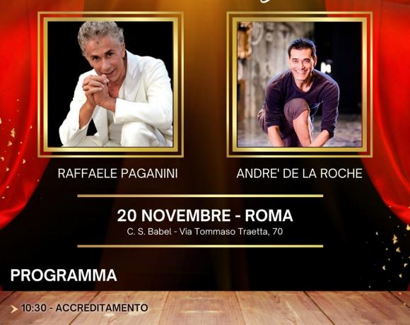 A novembre Stage con Raffaele Paganini e Andre De La Roche